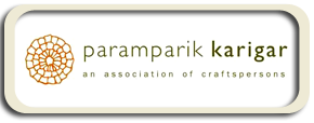 paramparik karigar logo artisans & crafts persons of India