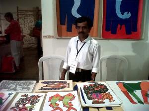 gond painting indian art craft paramparik karigar event
