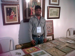 miniature painting indian artist master crafts
