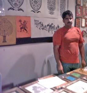 paper cutting mathura sanjhi art