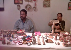 papiermache indian artist paramparik karigar