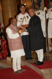 Padma Shri award by President of India
