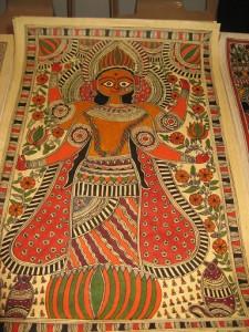 Mithila artist
