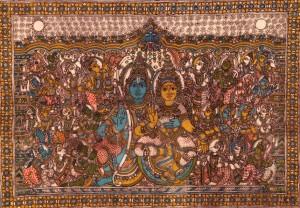 Padma Shri Gurupa Chetty Kalamkari