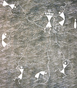 Warli tribal painting by (2)