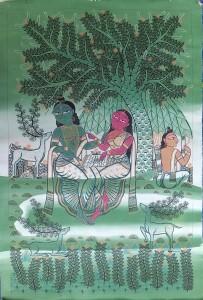 Anwar Chitrakar - Garden of Tranquillity