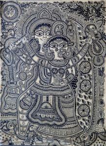 Late Satya Narayan Lal Karn & Moti Karn - Radha Krishna