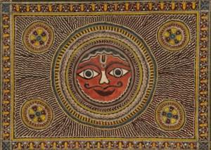 Mithila Art by Satyanarayan & Moti Karna