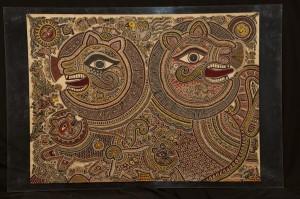 Mithila Art by Satyanarayan & Moti Karna - Bihar (1)