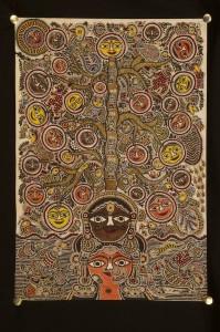 Mithila Art by Satyanarayan & Moti Karna-Bihar
