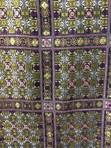 Soof Embroidery by the neice of our esteemed Karigar, Dayaben Dohat