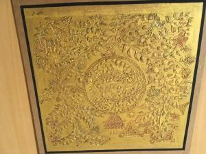 Poonam Kumawat Miniatures Gold embossing