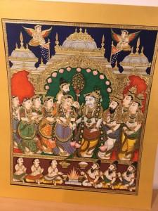 Mysore Painting- Sridhar Rao
