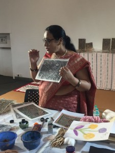 Mithila workshop by Moti Karn, Mithia workshop, madhubani painting, national award winning artist, painting, art, paramparik karigar