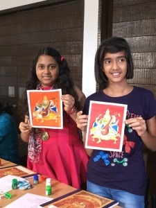 Mysore Painting Workshop, Workshop, Mysore Painting, Painting