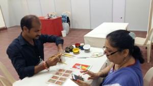 Dabu Workshop, Dabu, painting, workshop