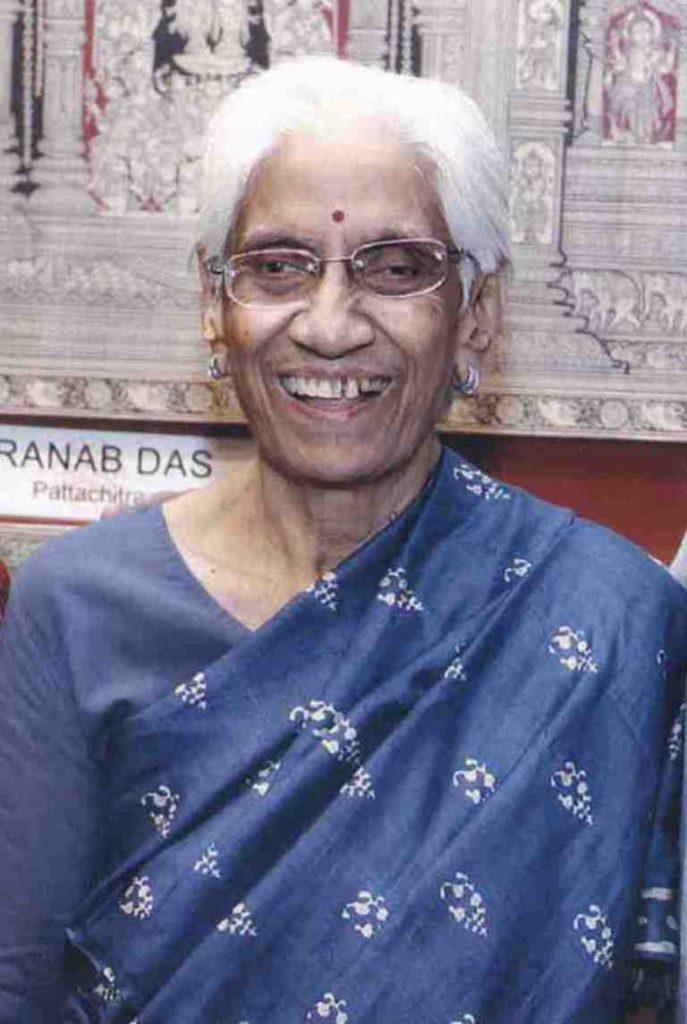 Late. Arundhati Nanavati - Founder Member of Paramparik Karigar